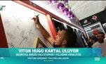Vitor Hugo Kartal oluyor