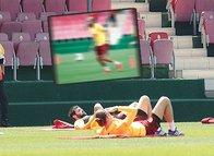 Hazırlıklar sürüyor! ''Neymar Galatasaray antrenmanında''