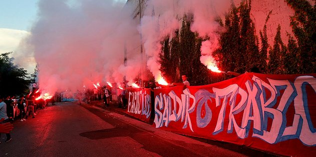 Trabzonspor'a coşkulu uğurlama! - Futbol -