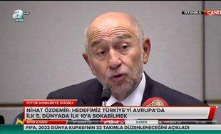 """Nihat Özdemir: """"Şenol Güneş'e güvenim tam"""""""