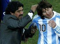 Maradona'dan Lionel Messi'ye tam destek