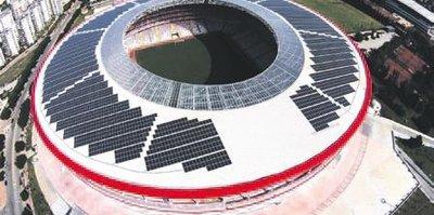 Antalya stadı para basıyor