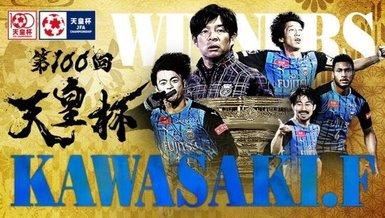 Japonya'da 100. İmparatorluk Kupası'nın sahibi Kawasaki Frontale