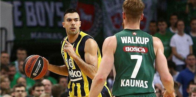 Maç sonucu: Zalgiris 57-66 Fenerbahçe Beko | MAÇ ÖZETİ