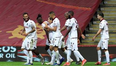 Son dakika spor haberleri: Galatasaray derbisinde Trabzonspor'dan dış sahada yenilmezlik rekoru