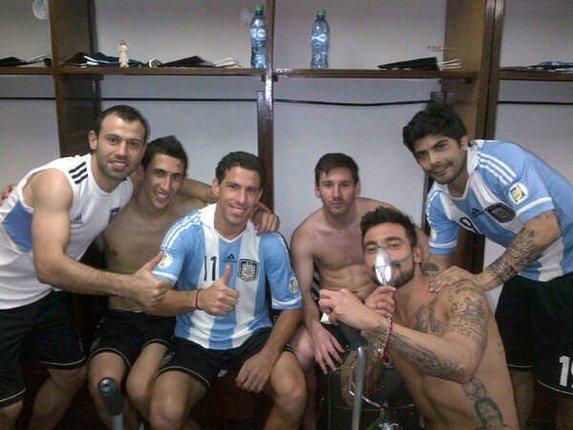 Arjantin'li futbolcuların zor anları