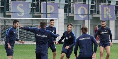 Osmanlıspor Fatih Karagümrük maçına odaklandı
