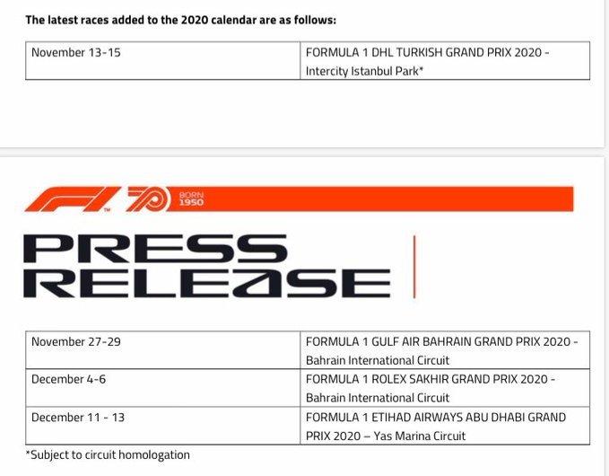 flas iddia formula 1 istanbula dondu 1598346442655 - Flaş iddia! Formula 1 İstanbul'a döndü