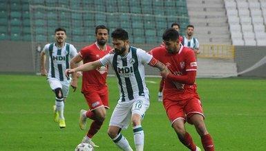 Giresunspor Balıkesirspor 1-0 (MAÇ SONUCU - ÖZET)