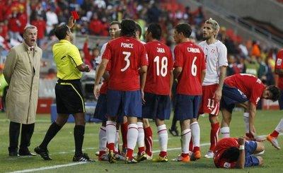 Şili - İsviçre (H Grubu maçı)