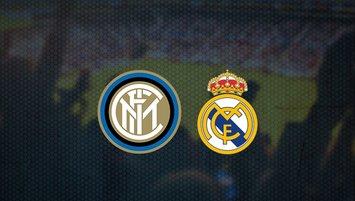 Inter - Real Madrid maçı saat kaçta ve hangi kanalda?