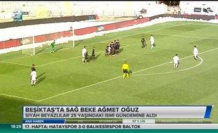 Beşiktaş'ta sağ beke Gençlerbirliği'nden Ahmet Oğuz