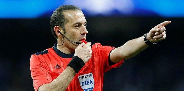 Porto - Roma maçını Cüneyt Çakır yönetecek