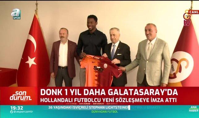 ryan donk 1 yil daha galatasarayda 1597424247081 - Galatasaray Ryan Donk'un sözleşmesini 1 yıl daha uzattı