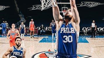 Philadelphia Furkan Korkmaz ile kazandı!
