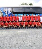 Altınordu Belediyespor 2. etap kampı için Erzurum'a gitti