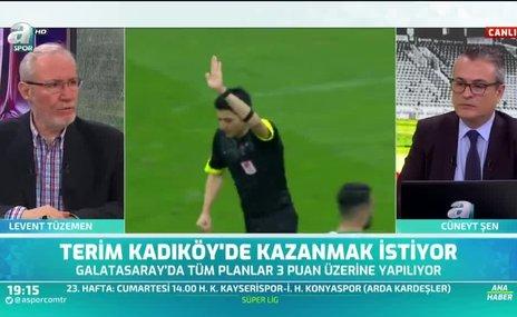 Levent Tüzemen: Bence risk alması gereken takım Fenerbahçe