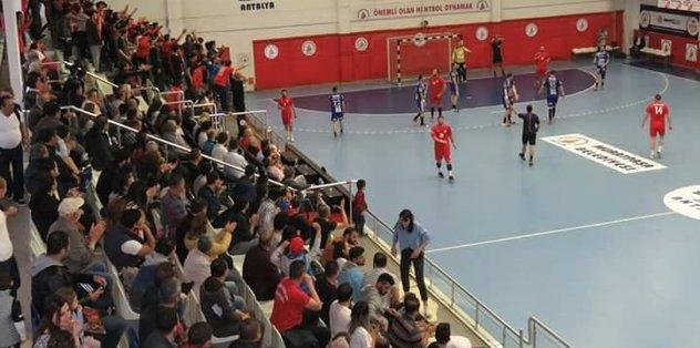 Antalyaspor hentbolda Merzifon'u ağırlayacak