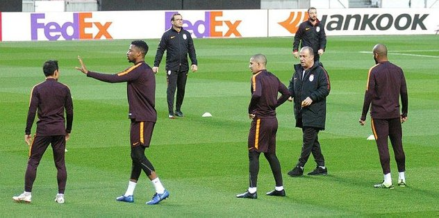 Galatasaray Akhisarspor maçına hazır