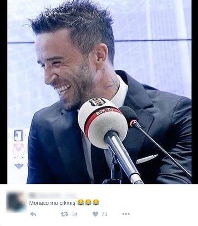 Monaco eşleşmesi Twitterı salladı!