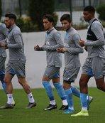 Trabzonspor Göztepe maçının hazırlıklarını sürdürdü