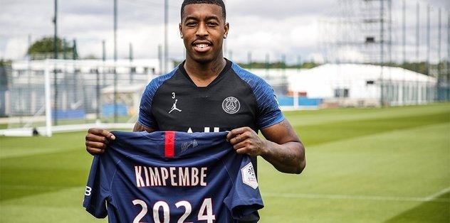 PSG'de Kimpembe'nin sözleşmesi 2024 yılına kadar uzatıldı! - Fransa Ligue 1 -