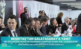 Beşiktaş'tan Galatasaray'a flaş yanıt