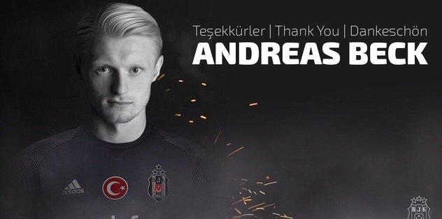 Beşiktaş'tan Beck'e teşekkür mesajı