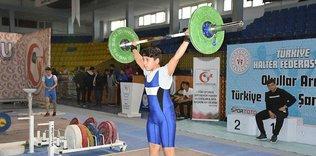 Halter Gençler B Türkiye Şampiyonası başladı