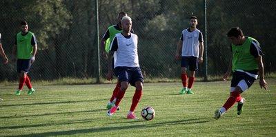 Antalyaspor'da tempo artıyor