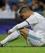 Ronaldo'dan korkutan istatik