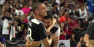 Merih Demiral Juventus formasını ilk kez giydi
