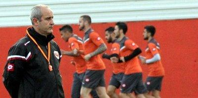 Adanaspor'da Trabzonspor mesaisi