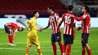 Atletico Madrid Barcelona: 1-0 (MAÇ SONUCU - ÖZET)
