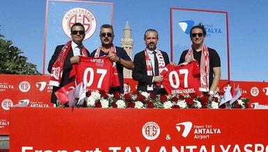 Antalyaspor Fraport TAV sponsorluğunu uzattı