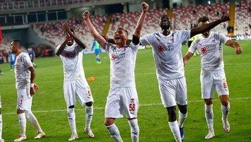 Sivasspor'dan İstanbul'a geçit yok!
