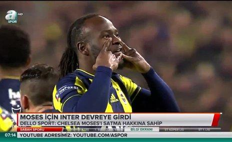 Moses için Inter devreye girdi