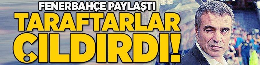 Fenerbahçe paylaştı taraftar çıldırdı!