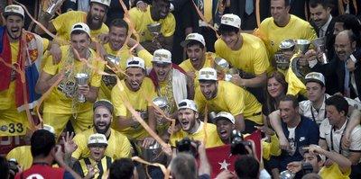 Anadolu Efes'ten Fenerbahçe'ye tebrik!