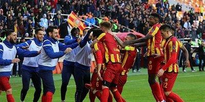 E.Yeni Malatyaspor haftalar sonra galip geldi