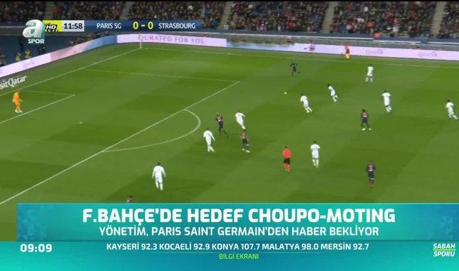 Fenerbahçe'de hedef Choupo-Moting