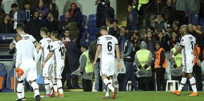 Başakşehir'den Beşiktaş'a geçit yok