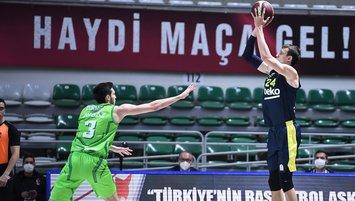 Nefes kesen maçta kazanan Fenerbahçe Beko!