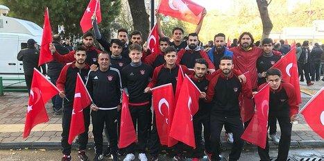 G.Antepspor'dan Türk bayraklı Kudüs tepkisi