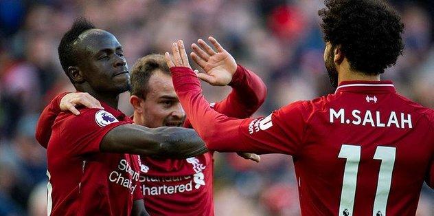 Liverpool, sahasında farklı kazandı