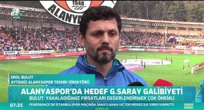 Alanyaspor'da hedef Galatasaray galibiyeti
