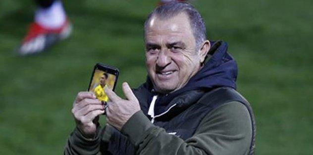 Fatih Terim Galatasaray'ın transfer listesinde olan Falcao ile görüştü