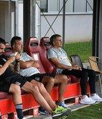 Beşiktaş - Reading maçında dikkat çeken kare