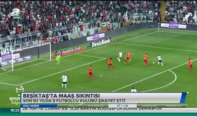 Beşiktaş'ta maaş sıkıntısı