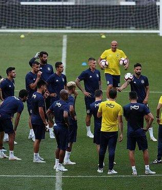Fenerbahçe'de Beşiktaş derbisinin hazırlıkları başladı